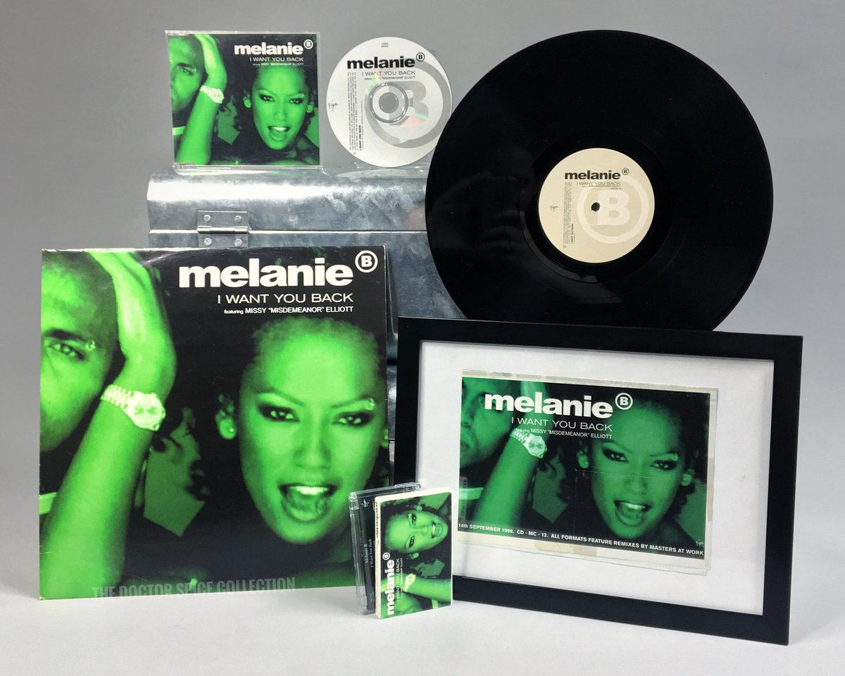 """. @OfficialMelB became the first of the @spicegirls to release solo music #OnThisDay 22 years ago in 1998. The single """"I Want You Back"""" featured @MissyElliott and went straight to No.1 on the @officialcharts 🟩 #spicegirls #melb #scaryspice    https://t.co/UKKdwcSZ9j https://t.co/8HBMu9KThn"""