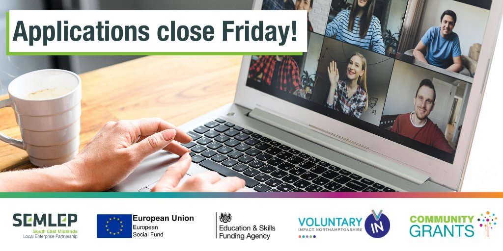 Applications for the Community Grants programme close on Friday✍️  If your planning to apply for the programme, register your interest via the website - https://t.co/raVgDrcT9O to receive the full application.   Could you receive #funding? Find out now. https://t.co/RqGC8KWVkd