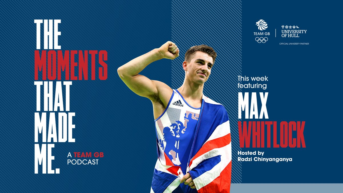 New podcast featuring @maxwhitlock1 🎙️  Max talks through the three moments that helped him to become Great Britain's most successful Olympic gymnast.  iTunes ➡ https://t.co/0BFWOiyz01 Spotify ➡ https://t.co/8uSJST9Kos Google ➡ https://t.co/Wz2mOOhiKL  @UniOfHull https://t.co/gHtceL375M
