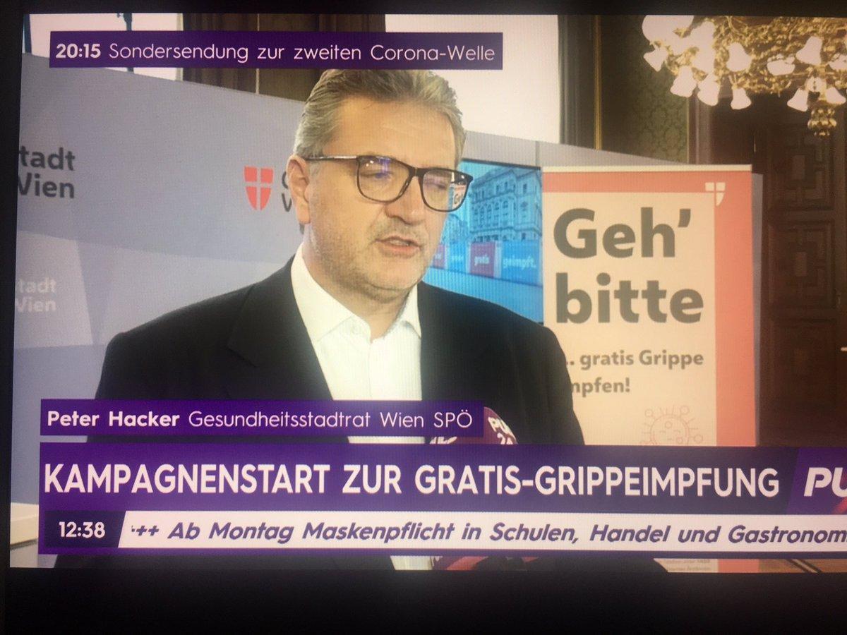 Mein geliebtes #Wien macht es richtig: Gratis Grippeimpfung ! @SP_Wien  @BgmLudwig #StadtratHacker https://t.co/VMPBlOvlLM