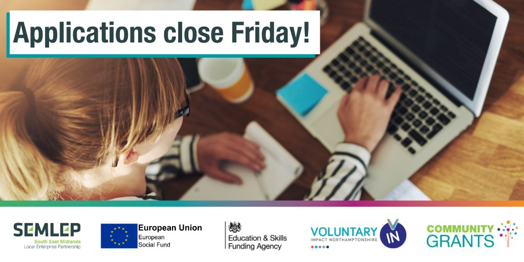 📢Reminder: Today is the last day to submit your Community Grants application.   If you have a question, get in touch before 2 PM:  ☎️01234 436100 ✉️communitygrants@semlep.com 💻https://t.co/raVgDrcT9O https://t.co/qiA7q35zXJ