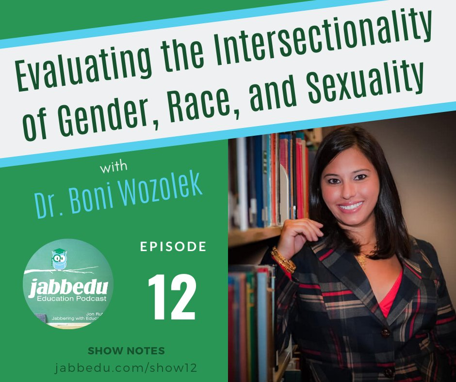 Wonderful episode with Dr. Boni Wozolek!  We really dive into how to have conversations with students when you don't share the same experiences.  You'll definitely want to go get the resources page she shares with us! https://t.co/FmxSMgDghI https://t.co/r1Lp7fR0Cu
