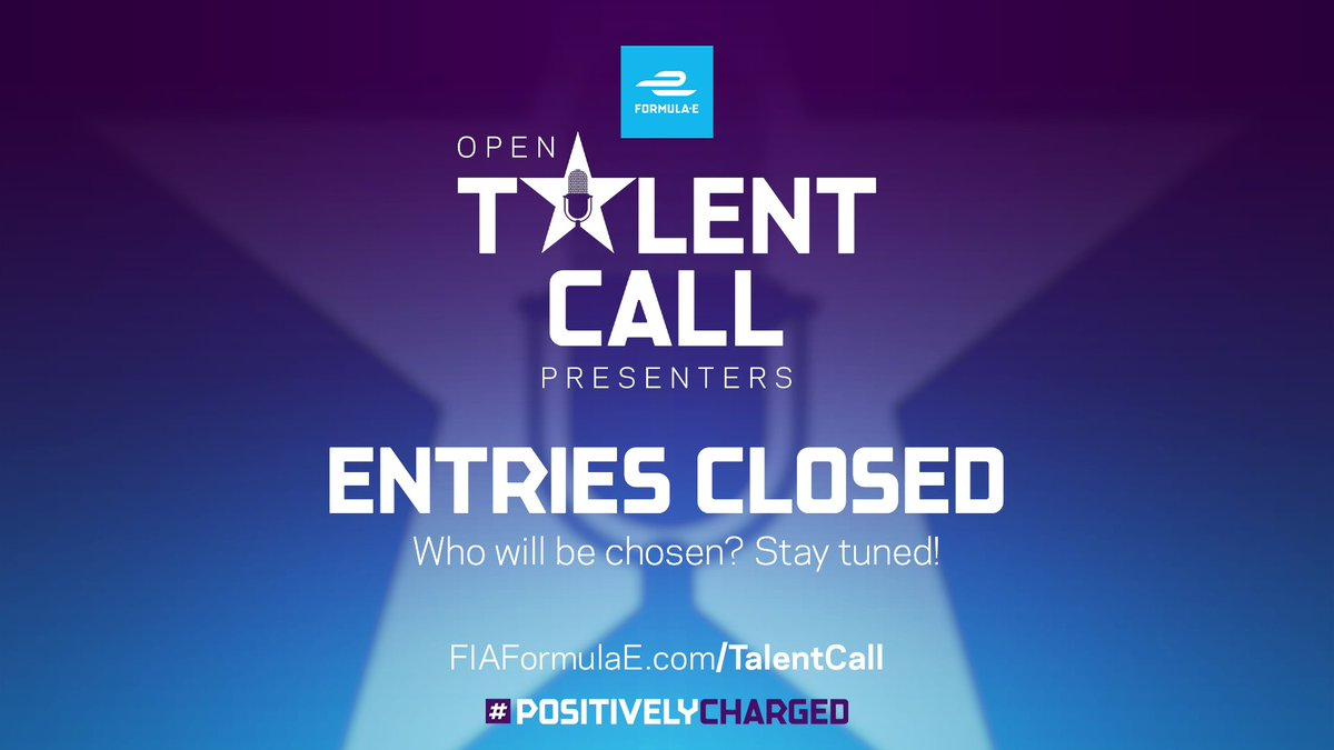 A huge THANK YOU to everyone who applied for the #FETalentCall 👏🎉   With entries now closed, we'll be giving regular updates as the competition continues 🗣   So follow the journey to see who will join us at the opening race of Season 7! 🏆 https://t.co/GurFZV8Ndo