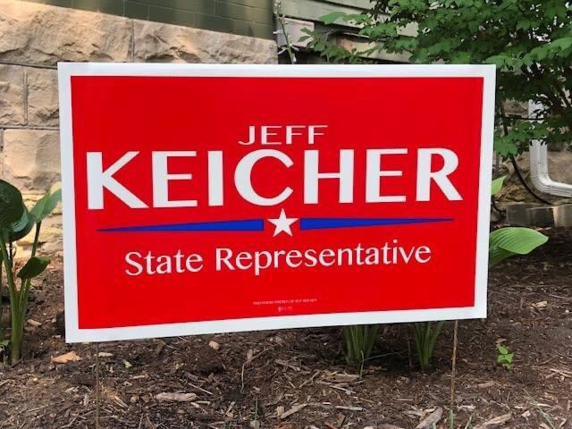 .@JeffKeicher, Illinois State Rep for #IL70, has been endorsed by A.B.A.T.E. of Illinois in the 2020 General Election. He needs our help with phone banking and canvassing on Saturday September 19! Calling all bikers!!! #HelpThoseThatSupportBikers #twill #Illinois #Vote2020 🇺🇸 https://t.co/fQDq5cdzOl