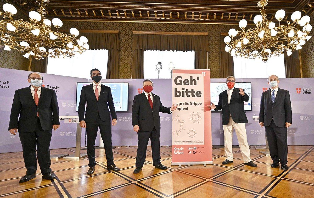 Ich find die Impfziele der @Stadt_Wien zur #GrippeImpfung super.  Ich find Fotos dazu mit fünf ausschließlich weißen alten Männern absurd. https://t.co/3vDo6Sy4Gy
