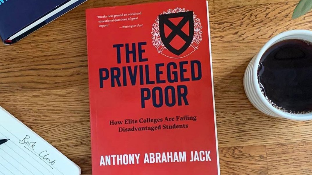 """""""Reading The Privileged Poor has opened my eyes to the extent of socioeconomic imbalance in our upper education system.""""   As back to school season begins, we spoke to two university book clubs that read and discussed The Privileged Poor this summer.  https://t.co/3PJJiuqKHK https://t.co/0hxylLobrF"""