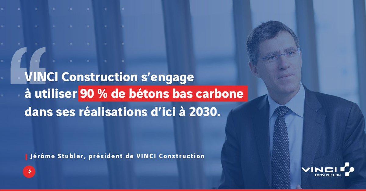 🏗️Avec #Exegy, @VINCIConstruc a l'ambition de développer significativement l'usage des bétons #bascarbone pour la réalisation de tous types d'ouvrages. https://t.co/Gq5KaZlt9Y
