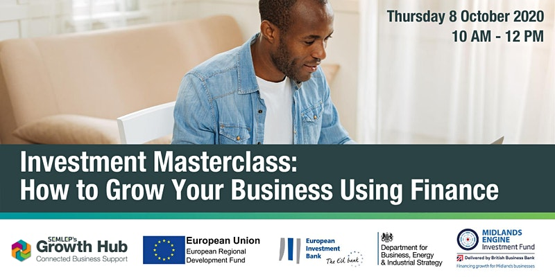 Want to grow your business using finance?   @SEMLEPGrowthHub have partnered with @MidsEngInv to bring you a fully funded investment masterclass.  Discuss how you can grow your business using external finance & dispel some of the #funding/equity myths.  👉https://t.co/cMwK74uqst https://t.co/NzEQZqx572