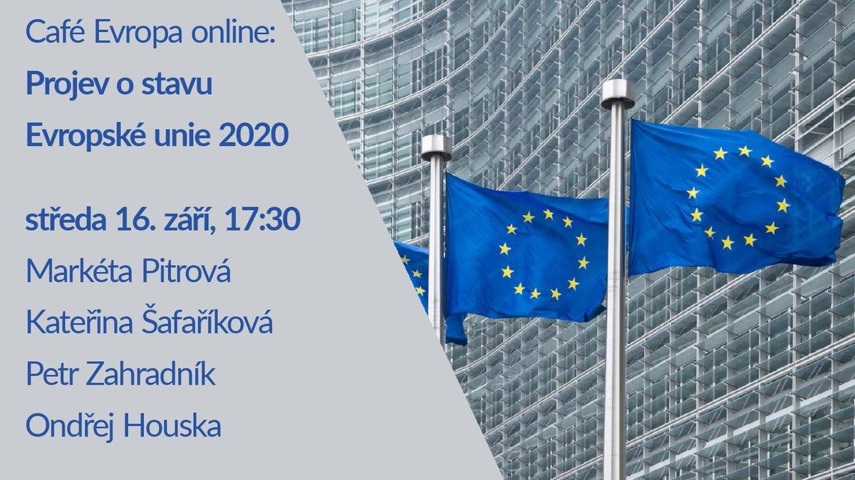 Rádi bychom vás pozvali na druhou z diskusí pořádaných příležitosti #SOTEU, která se uskuteční ve středu 16. září od 17:30 - tedy v den projevu @vonderleyen. Jaké byly reakce europoslanců ? Jak bude vypadat směrování EU v dalších letech? Sledujte ONLINE👉 https://t.co/GuSTmSFytr https://t.co/Zxby9cootr