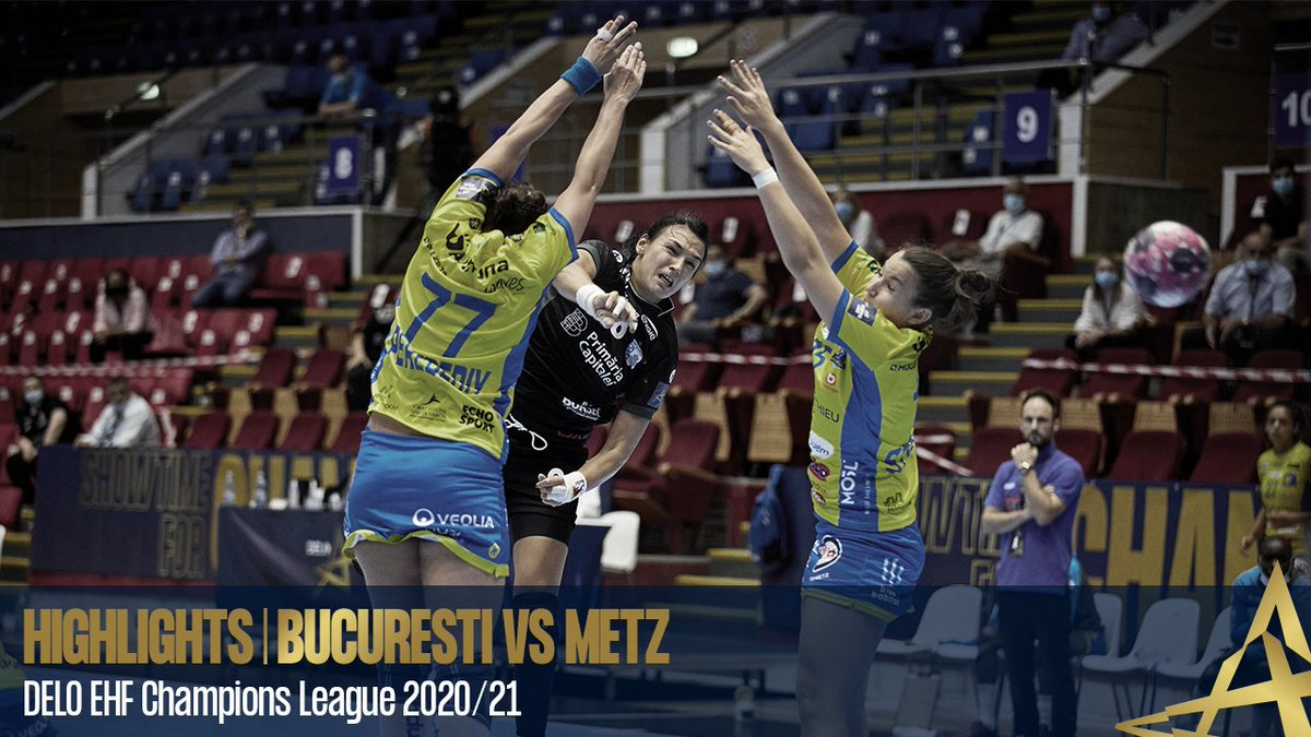 Watch the highlights from 🇷🇴 @csm_bucharest vs @MetzHandball 🇫🇷 #deloehfcl #ehfcl https://t.co/Tn1cEn23gA
