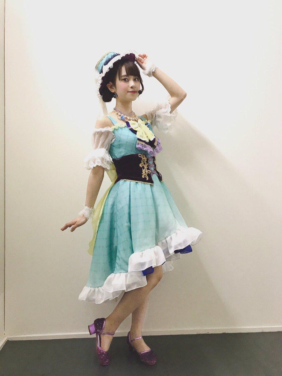 昨日の余韻…(*´ω`*) 「やがてひとつの物語」 台本さばきが難しかったけど、曲前に朗読ができて嬉しかったなぁ☺️ テンポが難しかったけど、しずくちゃんらしく歌えたと思います! 世界観に入り込めましたか?☺️  3rdもがんばる! 虹ヶ咲が大好き!  #虹ヶ咲 #TOKIMEKI
