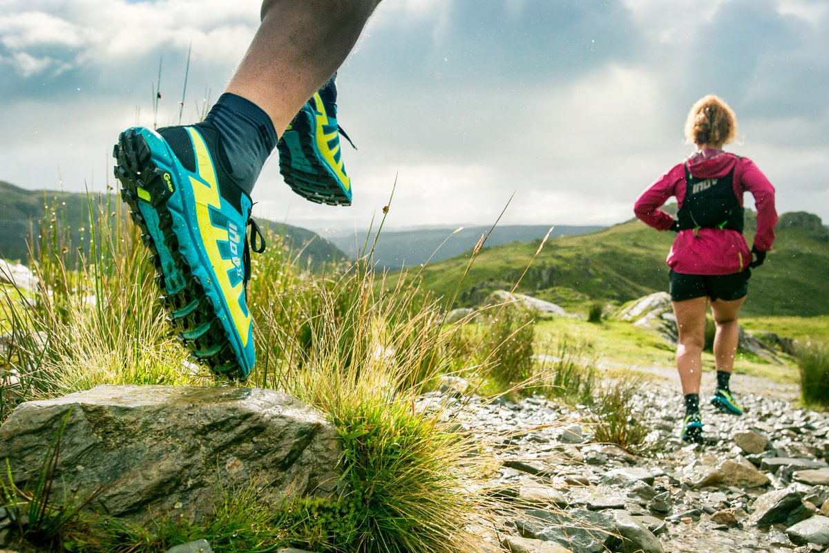 New @inov_8 TERRAULTRA G 270 with Graphene-Grip is an evolution of the award-winning TERRAULTRA G 260. More grip, cushioning,  bounce and comfort. The best just got even better. As worn by Damian Hall to set a record time on the 268-mile Pennine Way. https://t.co/7X2Ef11TcS #ad https://t.co/P8VkbW4jZM