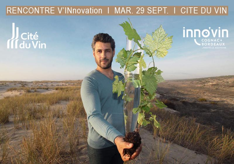[Evénement] Rencontres V'INnovation à la Cité du Vin, le 29/09 à 19h : 4 #startup #vitivinicoles qui vont révolutionner nos façons de #produire, de #cultiver tout en respectant l'#écologie et la #santé. > + d'infos : https://t.co/6EPqXAEoOo @laciteduvin @Inno_vin https://t.co/h4C4dtizKN