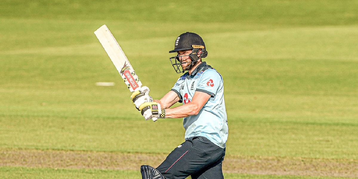 Chris Woakes is set to become second English all-rounder after Flintoff to do the double of 1,000 runs and 150 wickets. (Credits: Twitter/Grey Nicolls)