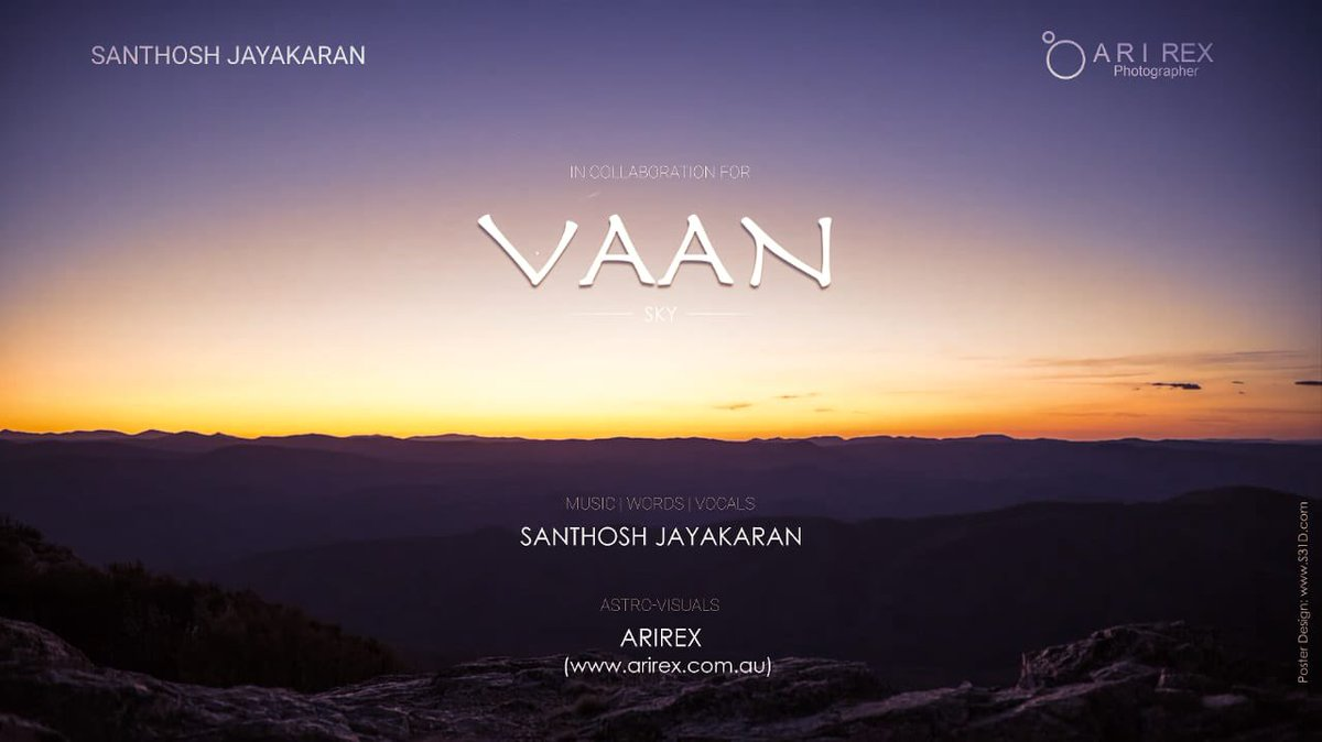 In love with this beautiful track by  one of my fav #voice #singersongwriter #SanthoshJayakaran ❤️ killer one bro 💯   VAAN (THE SKY) | ENG/TAMIL INDIE MUSIC VID | SANTHOSH JAYAKARAN | ASTRO ... https://t.co/vc2pxaGQKE via @YouTube https://t.co/untdcsyKCp