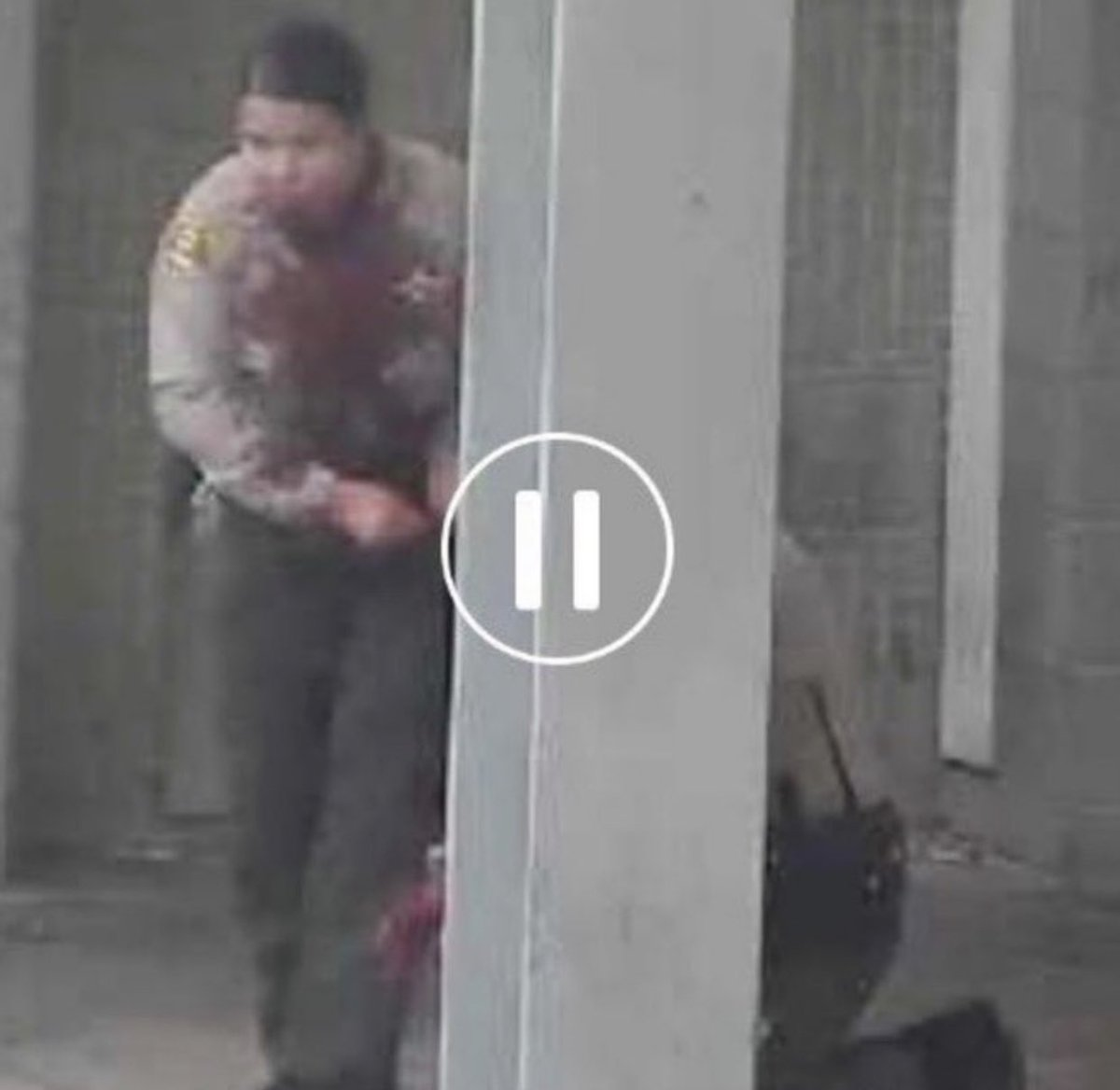 1. Here is a photo of the female LASD Deputy after she was ambushed along with her partner while sitting in their patrol car. 1 bullet broke her jaw. Her partner was shot twice in the head. She was able to radio for help & even apply a tourniquet to her partner's wounds.