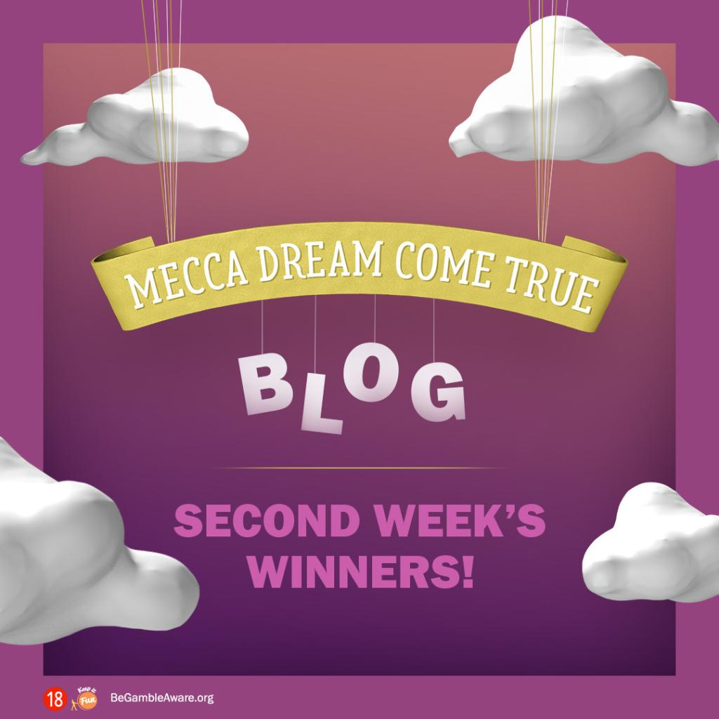 Did you have Friday night plans already? 😄 No worries - catch up on all the excitement of the Mecca Dream Come True live prize draw here 🎉  https://t.co/yY4hnTZo0W https://t.co/Ab85nKDjy6