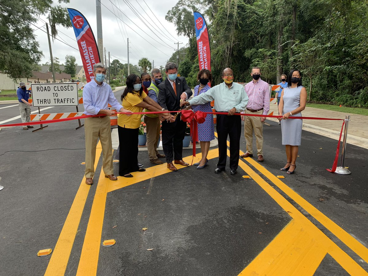 With the enhancements nearly complete, Weems Road is officially open to traffic!