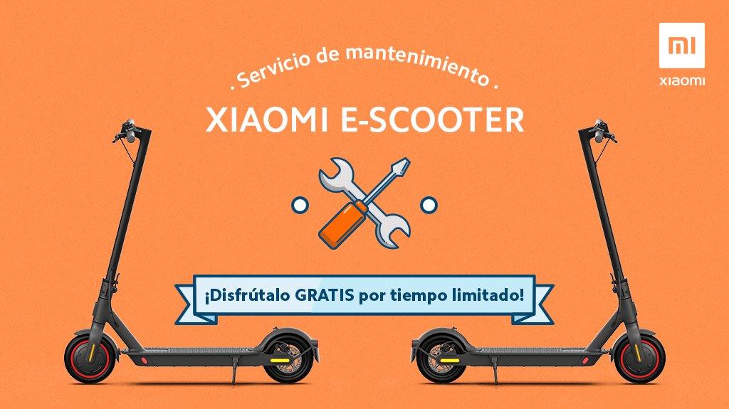 ¿Quieres ver en qué condiciones tienes tu #MiElectricScooter?  Disfruta del servicio de mantenimiento gratuito por tiempo limitado. Más información aquí 👇 https://t.co/zkykPftCM8 https://t.co/lrCd8MkVXA