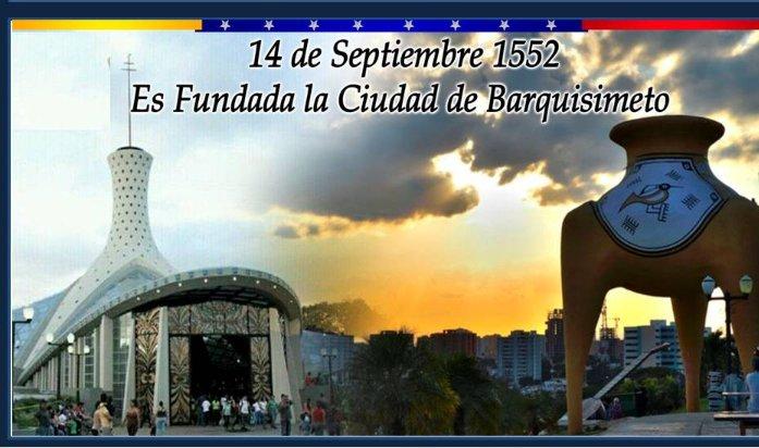 La ciudad crepuscular de Venezuela, cumple 468 años de su fundación. #14Sep de 1552.  ¡Felicitaciones! a todos los habitantes de la hermosa capital del estado Lara. 🗣️¡Naaa Guará!. #EscudoBolivariano2020 #RumboalcentenarioAMB #LealesSiempreTraidoresNunca https://t.co/6PGjxdmtF5