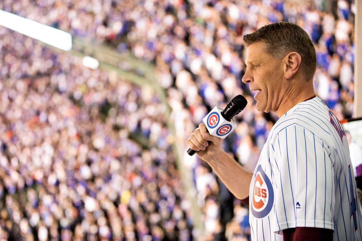 Our own @PorterMoser will sing Take Me Out to the Ballgame during Tuesday night's @Cubs game. 🎤 🎶  🗞➡️ https://t.co/Q5oBNxNfCY  #OnwardLU #MVCHoops https://t.co/y4gh0RYofZ