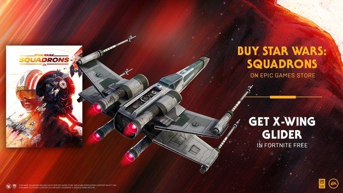 Fortnite Oyuncuları Star Wars X-Wing ile Uçabilir