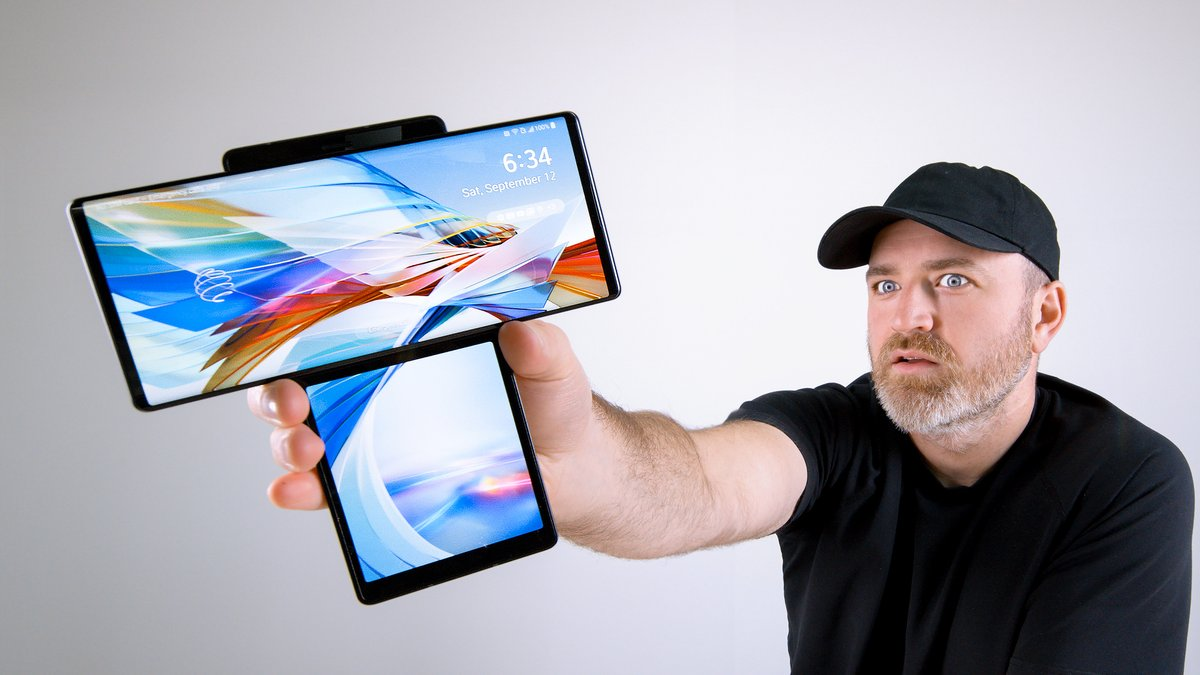 LG Wing Unboxing - This Thing is WILD - https://t.co/TL2m9dTzHL https://t.co/14NReTCTiK