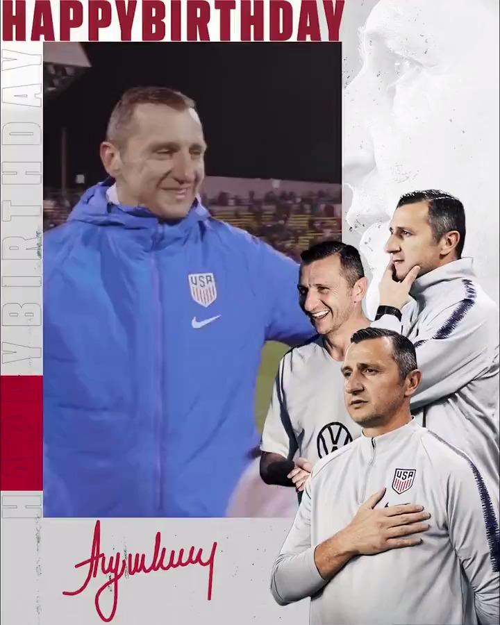 Happy Birthday, Vlatko! 🥳 RT to send our head coach some birthday love! 🎈
