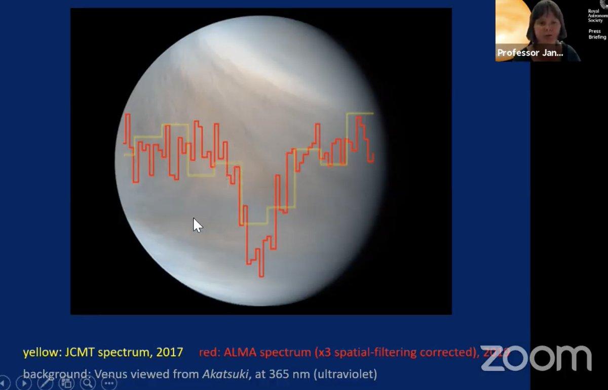 Se detectó fosfano en la atmósfera de Venus