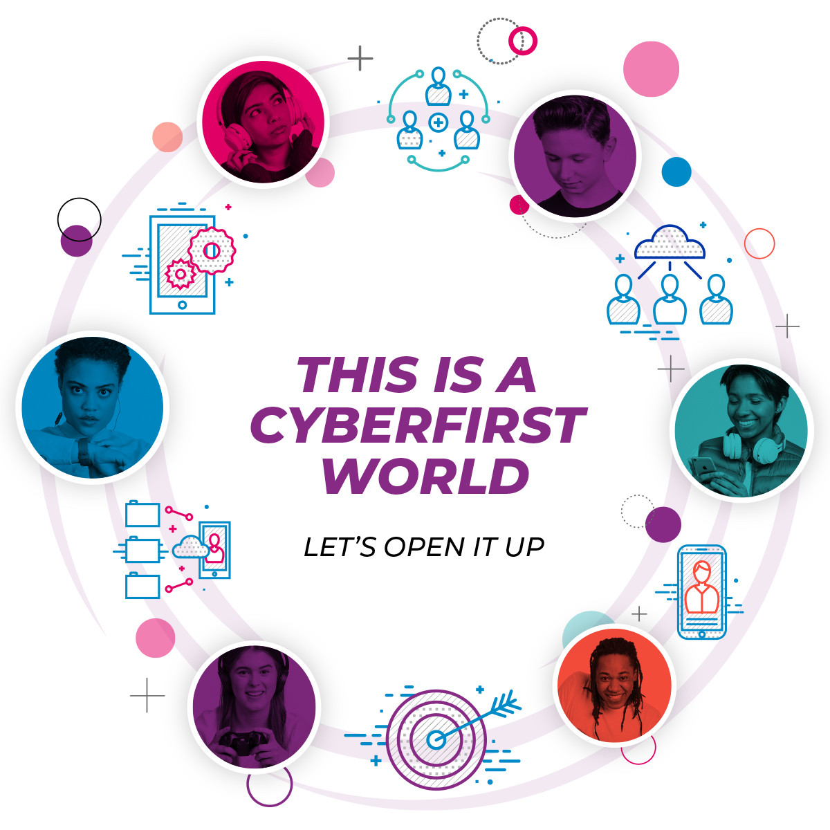 Feel like youre making a difference with #CyberFirst and join the @NCSC in helping to keep your family and friends safe online 🔒 Find out more about their university bursaries and degree apprenticeships ⬇️ gchq-careers.co.uk/cyberfirst/?ad…