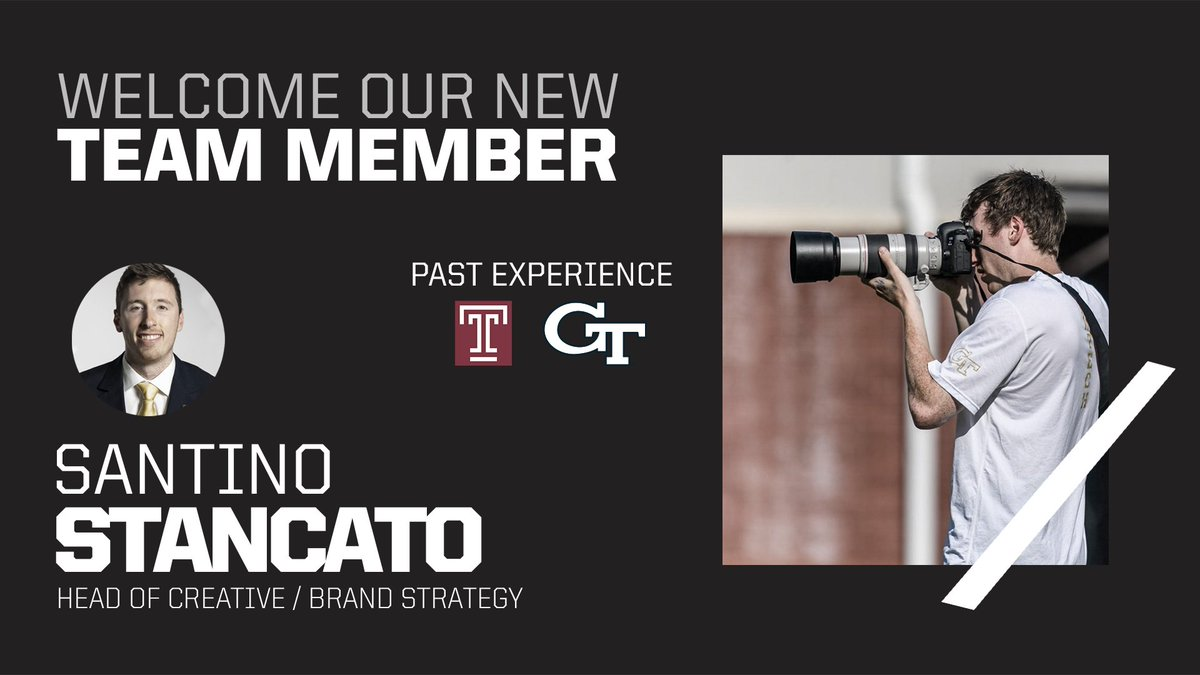 Were so excited for @santinostancato to join the J1S family! #StayDoubted
