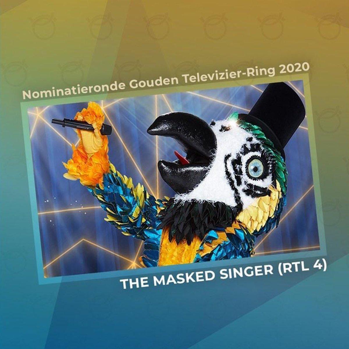 'The Masked Singer' is gekwalificeerd voor de 'Gouden Televizier-Ring'! 💍 Stemmen jullie ook op dit geweldige programma? 👉 https://t.co/hQfhPv8y3z #gerardjoling #televizierring #themaskedsinger https://t.co/HUyuktojHv