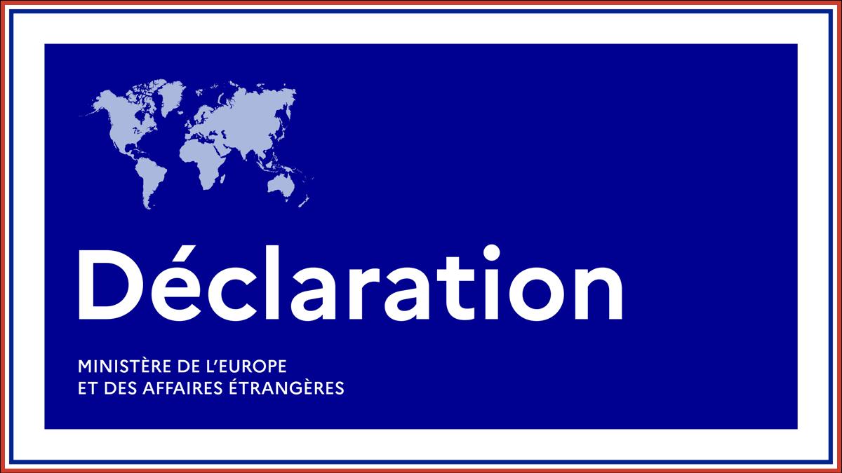 #Bahreïn #Israël La France se félicite de l'annonce de l'établissement de relations diplomatiques entre le Royaume de Bahreïn et Israël. La dynamique nouvelle dans laquelle s'inscrit cette annonce doit contribuer à la paix et à la stabilité régionales.  ➡ https://t.co/gAUr2mMV0N https://t.co/HrvkoWQIGX