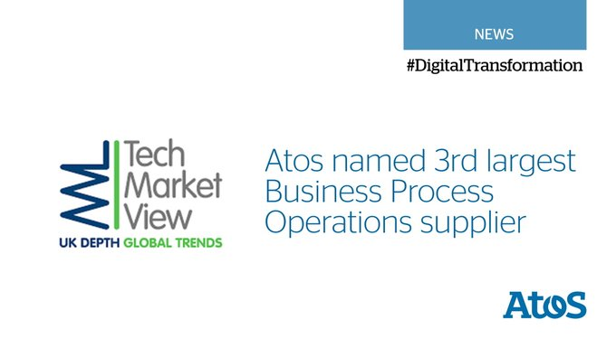We've been named a leading Business Process Operations supplier, in the latest industry list by...