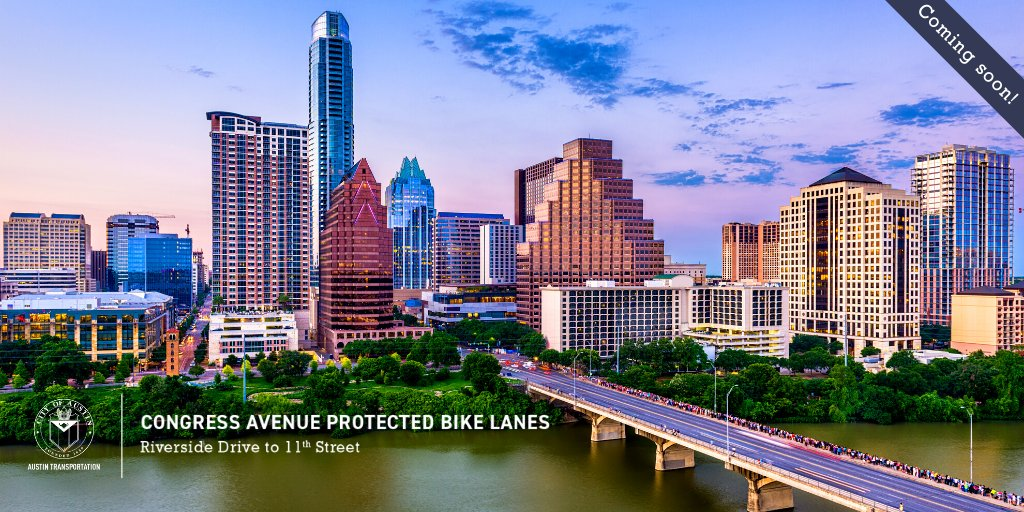 This is a huge step forward for active transportation in Austin!