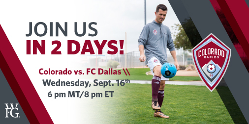 Tune in Wednesday night as Tom Dempsey joins the Colorado Rapids GM, Padraig Smith, for a Second Screen Experience. Follow along on Twitter using #Rapids96 and tag us to be featured on the live chat stream! Join us at 8pm ET/5pm PT by clicking https://t.co/RVAAWBMCI1. ⚽ https://t.co/a9W0UXDbsm
