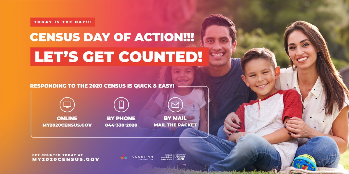 Time is running out. Please help NM get the funding it deserves for important services that help all New Mexicans. www. https://t.co/BcL2wychto #nmecon Deadline to to be counted is Sept 30. https://t.co/sfbuQinYZ6