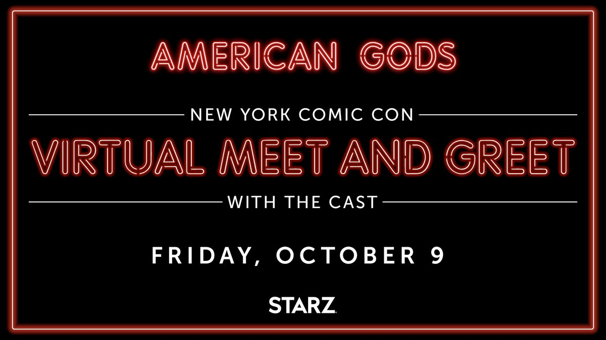 Picture this: It's October 9th. You're meeting the #AmericanGods cast. It must all be a dream...   IT'S NOT. All you need to do is be one of the first 25 fans to DM me the answer to this trivia question: What date does Shadow pick for the clunker to fall through the ice? https://t.co/JoIIVco5Xu