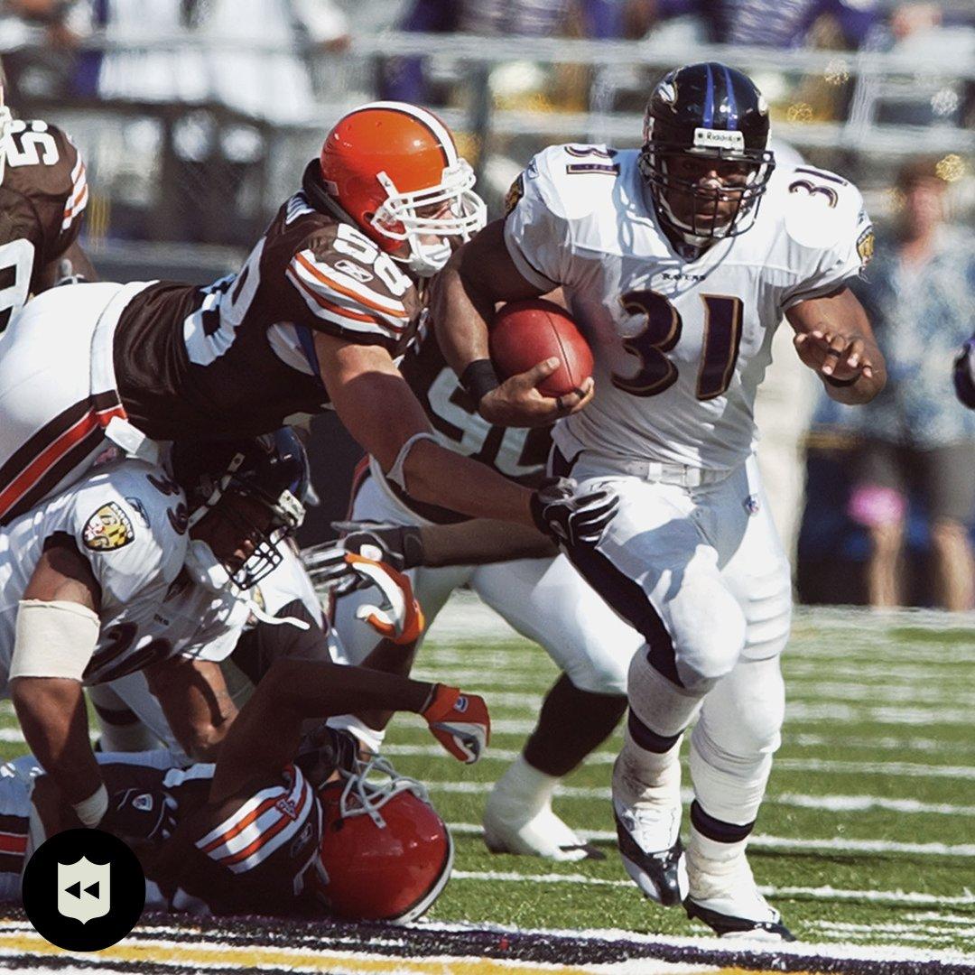 Jamal Lewis ran wild for 295 yards 17 years ago today. @Jamal31Lewis (Sept. 14, 2003)