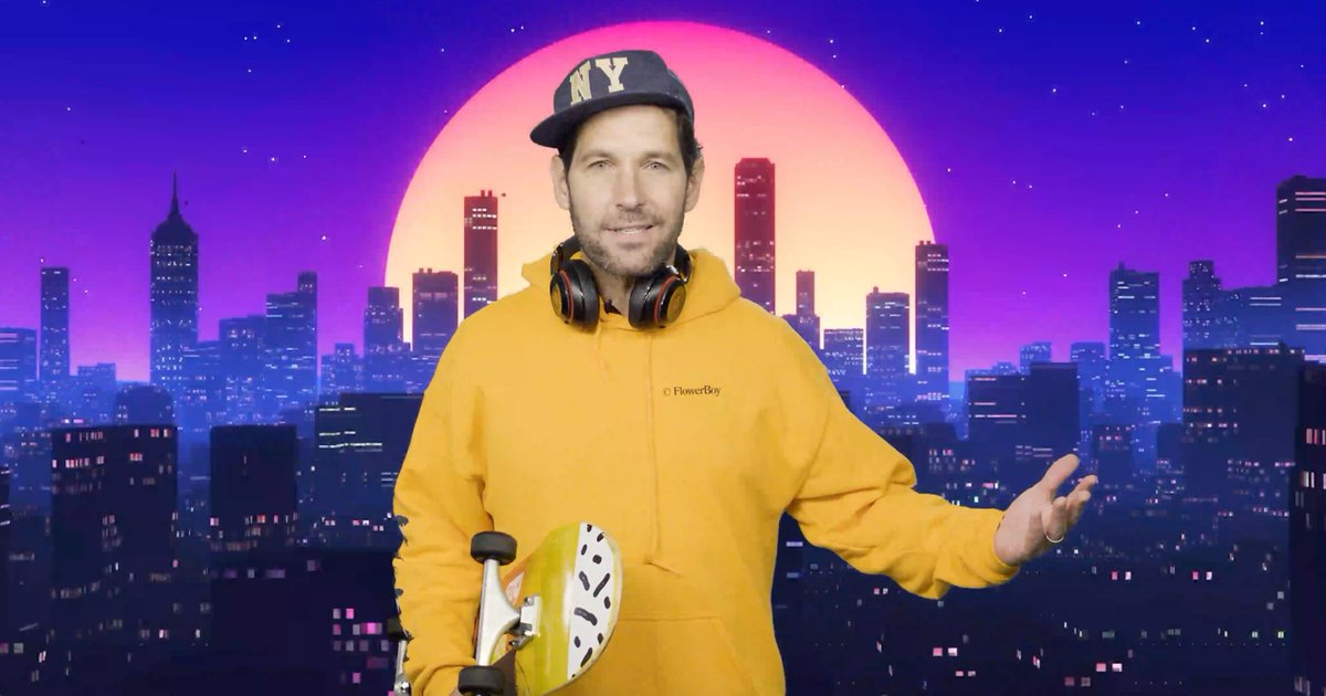 Certified young person Paul Rudd wants you to wear a mask. Listen up: