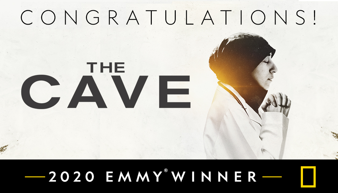 Congrats to the entire creative team of The Cave on tonight's Emmy® win for Exceptional Merit in Documentary Filmmaking! Thanks to the @televisionacad for this honor & most importantly, thank you to Dr. Amani for letting us share her inspiring & courageous story. #EmmyWinner2020 https://t.co/zMXy1M0gCF