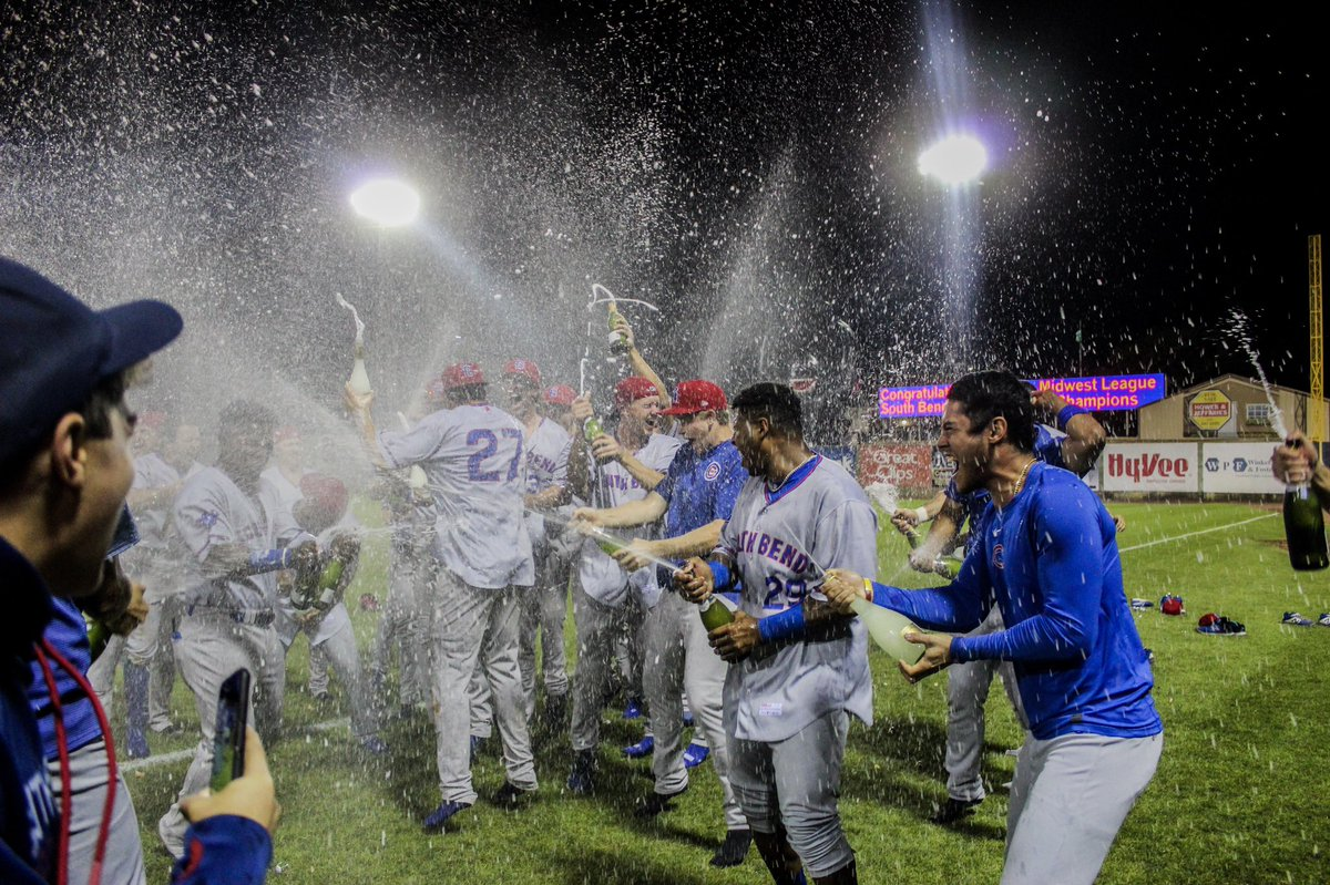 I'll remember this forever💙 1️⃣ year ago today I was blessed enough to finish out my season at the 2019 Championship game in Clinton. Little did I know I'd help capture HISTORY🔥 @SBCubs did just that & I will look at these photos for the rest of my life💍🐻 THANK YOU!