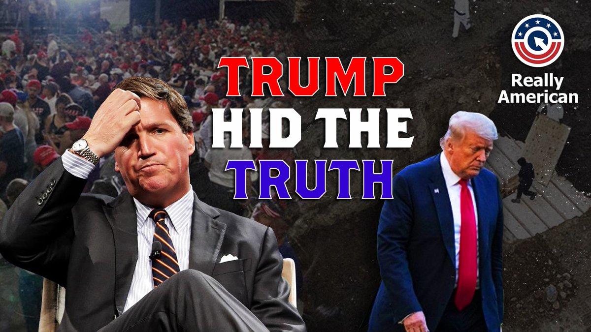 @ReallyAmerican1's photo on #TrumpHidTheTruth