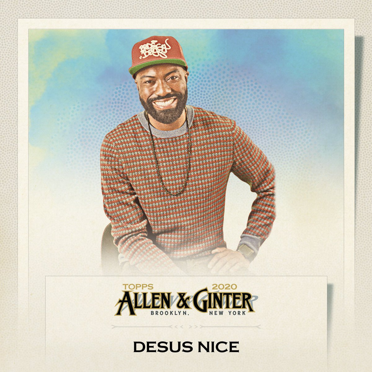 Ya boys got @topps cards! Check us out in the 2020 Topps & Allen Ginter...available Sept 16