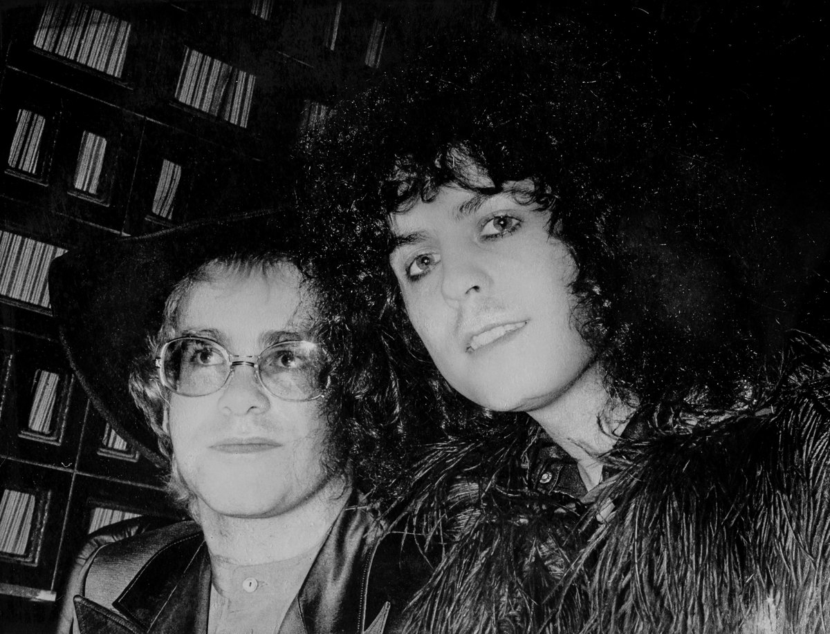 Marc Bolan seemed like he had come from another planet, just passing through Earth on his way somewhere else. At a time when I was still becoming Elton John, he was a great mentor and it was a privilege to play 'Bang A Gong (Get It On)' with T. Rex on Top Of The Pops in 1971. https://t.co/biror3KoXF