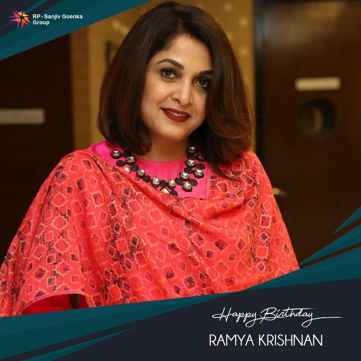 Birthday wishes to ever gorgeous @meramyakrishnan   #SaregamaWishes #HBDRamyakrishnan #HappyBirthdayRamyaKrishnan https://t.co/l9VtXm5BYS