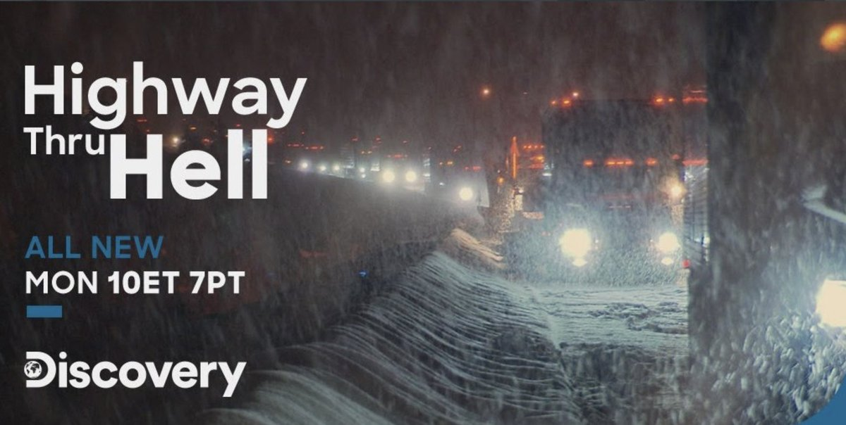 Line 21 is so proud to caption and script this amazing show. This year was especially challenging for the production and post-production teams. Please join us tonight in catching the season premiere! #HWYThruHell #DiscoveryCanada #Line21 #captioning @HWYThruHell @DiscoveryCanada
