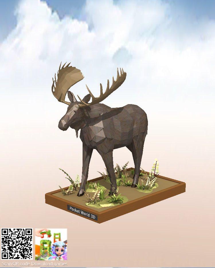 #お家で世界旅行 #アンカレッジ #トナカイの彫像 #pocketworld3d #pocketworld3dapp #pocketworldapp #pocketworld3d_puzzle https://t.co/HVtZdwGTM8