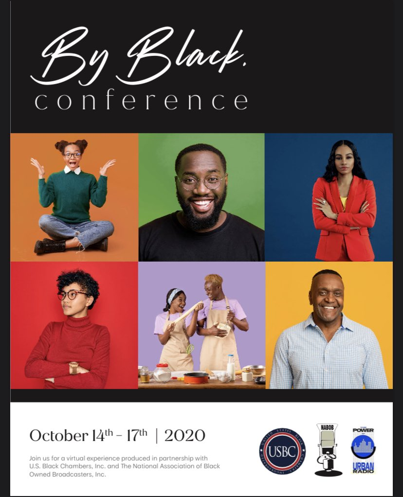 Not in the Washington DC area? No problem! The 2020 ByBlack Conference in partnership with NABOB is a free interactive virtual conference catered to building up our black businesses. To RSVP and find details on how to participate visit