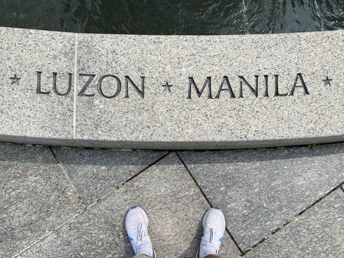 honoring our great american hero @manilaluzon https://t.co/9YI3ltzz1U